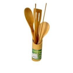 Paleta Bambus 5 Piese A00626