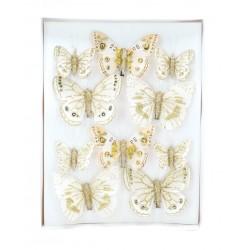 Cleste Fluture 10 Buc A11727