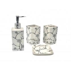 Set Baie 4 Piese Ceramic A01434