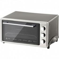 Cuptor Electric Hausberg Hb-8000P, 1800W, 48 L, Timer Sonor, Termostat, Rezistente Inox