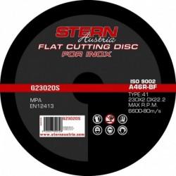 Set 5 Discuri Taiere Metal-Inox Stern G23020S, Pentru Polizor Unghiular, 230X2.0 Mm