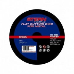 Set 5 Discuri Abrazive Pentru Metal G23025 Stern, 230 X 2.5 Mm