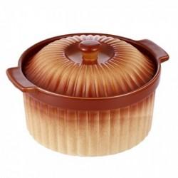 Cratita Ceramica Vabene Vb-6020037, 24 Cm, 2 L, Capac