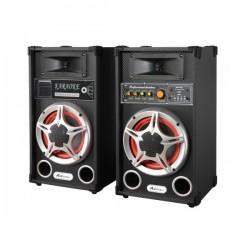 Boxe Active Audio Cu Functie Bluetooth, Radio Fm Si Slot Usb, Putere 2X35W