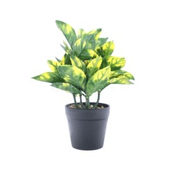 Flori Artificiale Ghiveci, Inaltime 24 cm, Diametru 8 cm