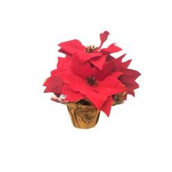 Flori Artificiale Ghiveci, Textil, Pvc Sd40009