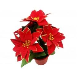 Flori Artificiale Ghiveci, Textil, Pvc Sd40011