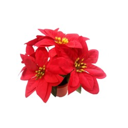Flori Artificiale Ghiveci, Textil, Pvc Sd40014