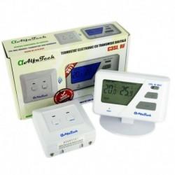 Termostat De Ambient Cu Transmisie Fara Fir (Wireless), Neprogramabil, C3Sl Rf Alfatech Slim