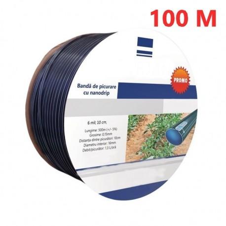 Banda Picurare (Din 10 In 10Cm)  , 16 Mm, Nanogrip Rola 100M