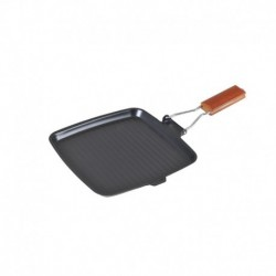 Tigaie Grill Otel Carbon, 24 Cm, Maner Detasabil, Dk-3650, Peterhof
