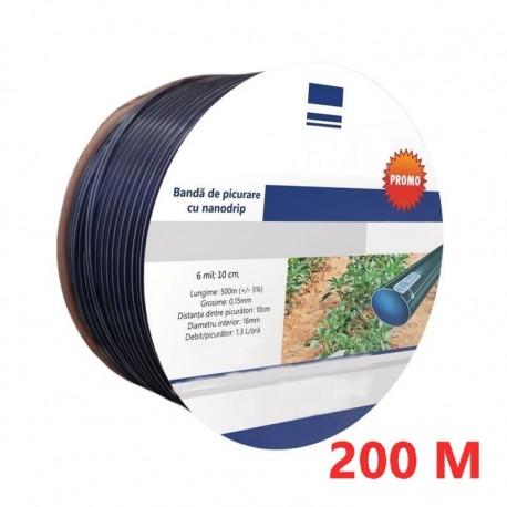 Banda Picurare (Din 10 In 10Cm) , 16 Mm, Nanogrip Rola 200M