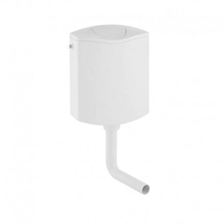 Rezervor WC Geberit AP116, cu montaj la semiinaltime, Alb